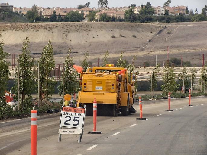 Road Work Sweeping